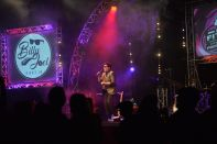 Billy Joel Tribute UK onstage at Pontins (03)